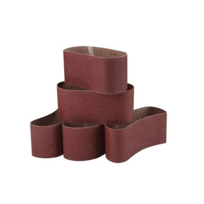 "5 Peck 3"" x 21"" 80 Grit Grinding Sanding Belt Alumina Oxide Sharpening Abrasive - intl"