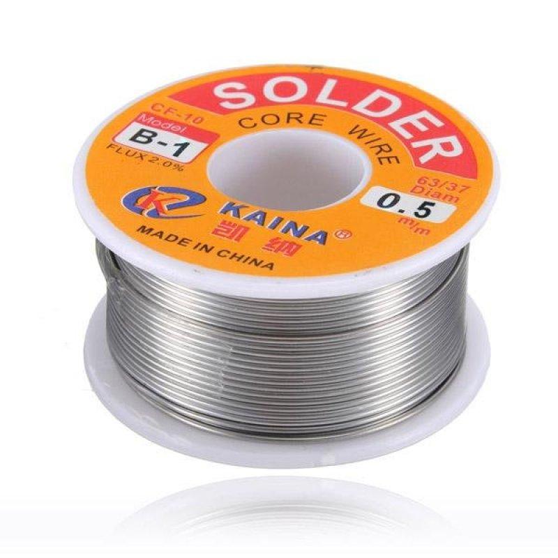 63/37 0.5mm Tin Lead Rosin Core Soldering Iron Wire Reel - intl