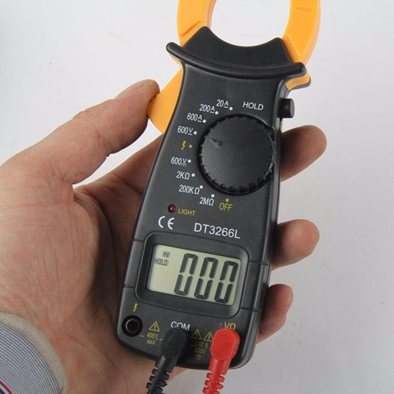 Ampe kiềm kẹp mét DT-3266L tặng 2bin và bút thử điện (trọng nghĩa)