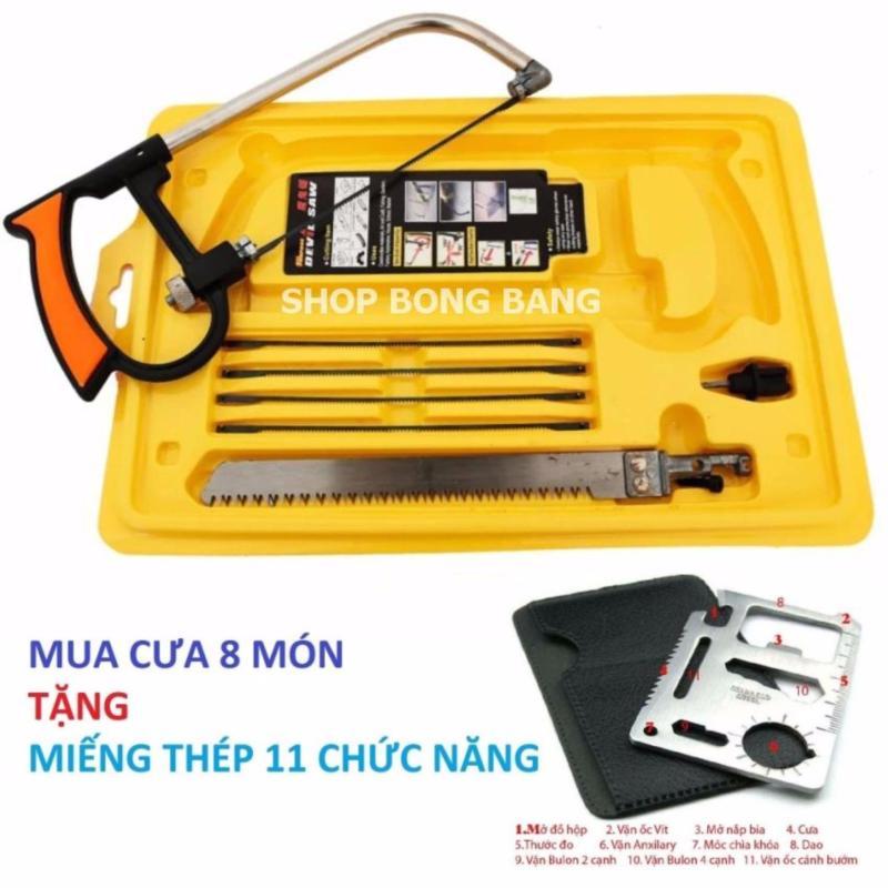 Bộ cưa mini đa năng cầm tay NQP1211 + tặng miếng thép 11 chức năng