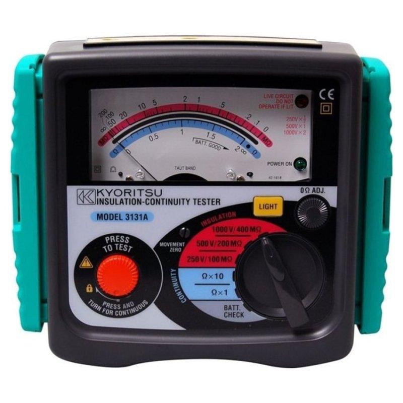 Đồng hồ đo điện trở cách điện KYORITSU 3131A (Đen)