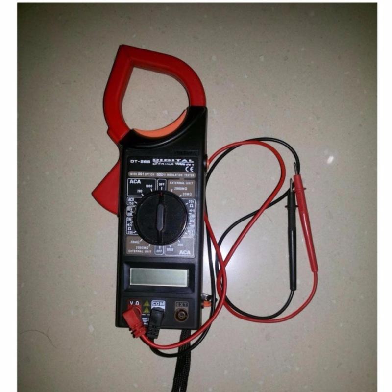Đồng hồ đo điện vạn năng kỹ thuật số kẹp mét DT266