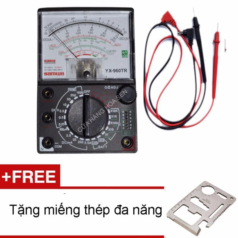 Đồng hồ đo kim vạn năng VOM YX-960TR Tặng miếng thép đa năng(Cửa hàng Hoa Sen)