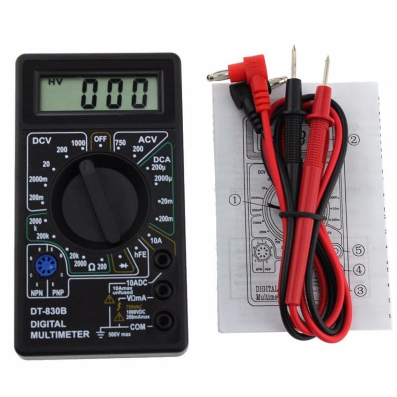 Đồng hồ đo vạn năng DT-830B cầm tay có pin