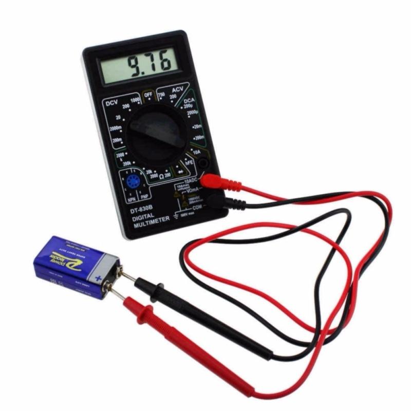 Đồng hồ đo vạn năng DT-830B  tặng 1 bin 9v