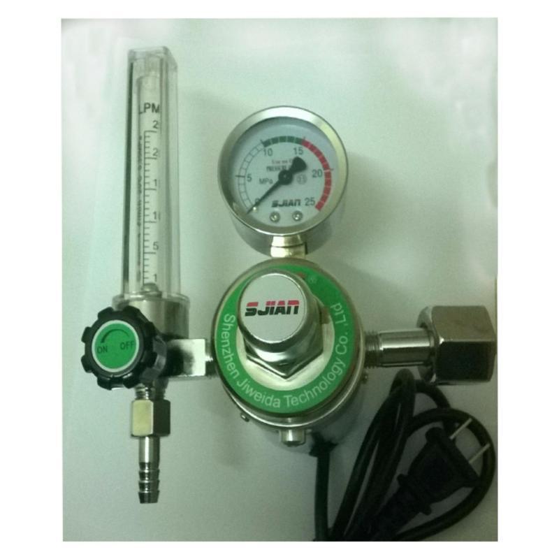 Đồng hồ khí CO2 -220V - hàn Mig