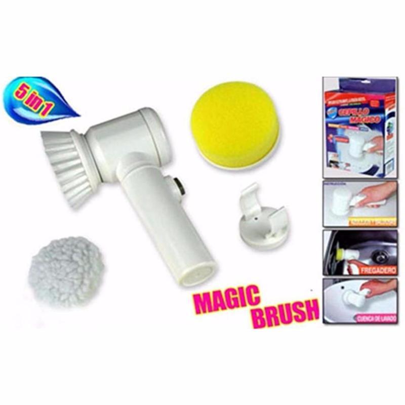 Dụng cụ lau chùi đa năng thông minh MagicBrush 5 in 1-King Store