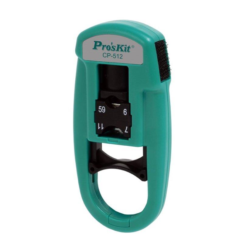 Dụng cụ tuốt cáp đồng trục Proskit CP-512.