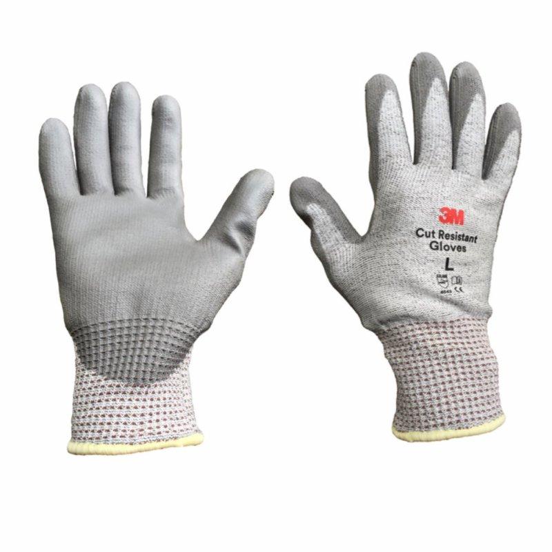 Găng tay chống cắt 3M cấp độ 5 Cut Resistant Gloves Size L(Xám)