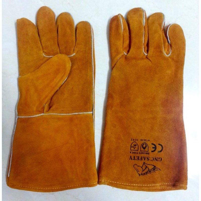 Găng tay da thợ hàn GNC