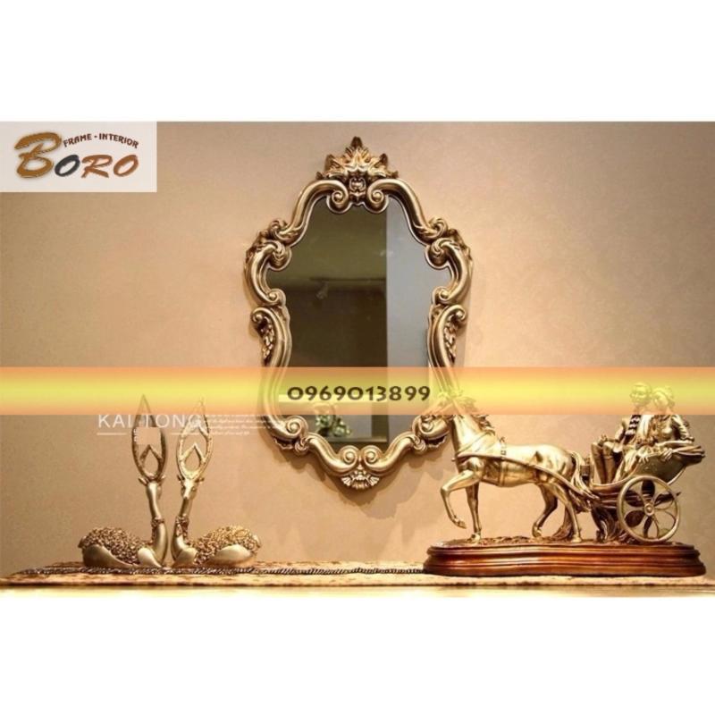 Gương soi cổ điển Châu Âu cao cấp BR020-3 (Vàng)