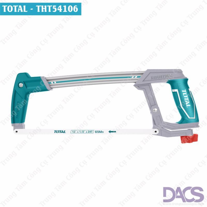 Khung cưa sắt cao cấp 300mm Total THT54106 (Tặng kèm 1 lưỡi cưa 65Mn).