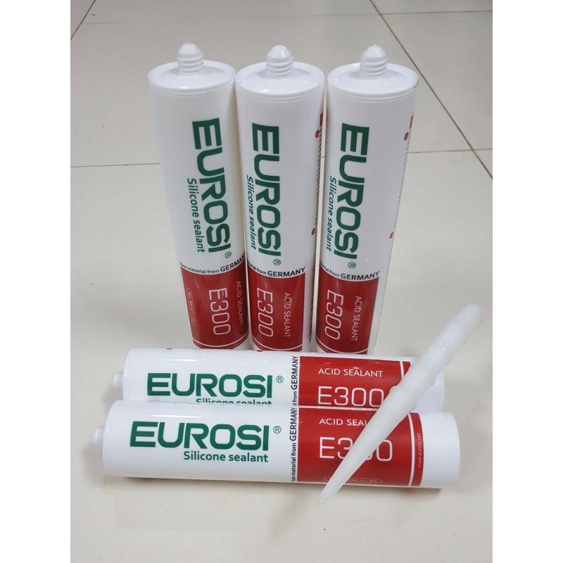 Lô 5 Chai - Keo Silicon trám trét Eurosi E300 - Chất Lượng Đức