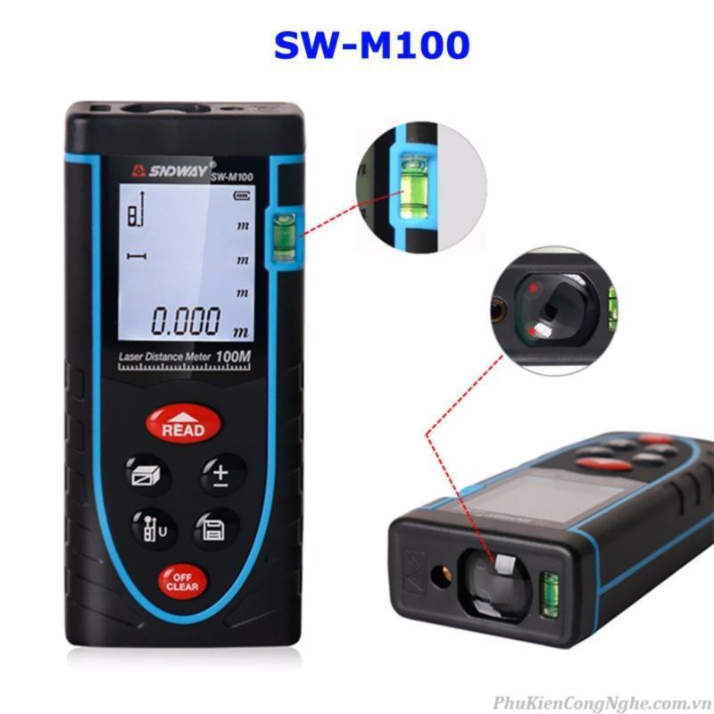 Máy đo khoảng cách lazer 100m SNDWAY SW-M100