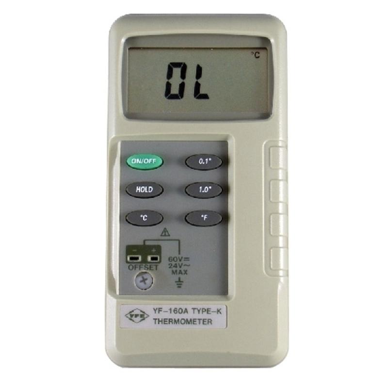 Máy đo nhiệt độ điện tử Tenmars YF-160A (-50 – 1200 °C)