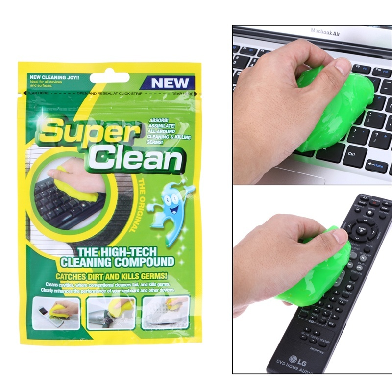 Practical Magic Innovative Super Dust Clean High Tech Cleaning Compound Slimy Gel For Cyber Computer - intl