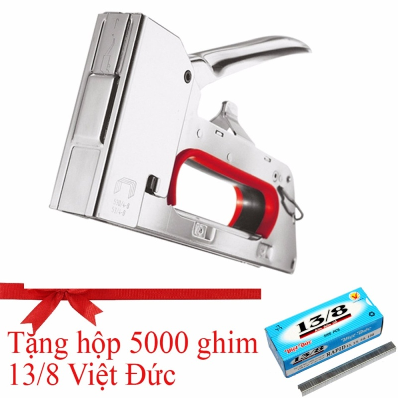 Súng bắn ghim Siêu chắc, khỏe UNC - SL999  (Tặng 1 hộp 5000 ghim Việt Đức 13/8)