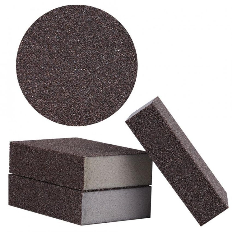 Sweatbuy 5Pcs Grit Sanding Sponge Buffing Polishing Block Pad Sandpaper Abrasive Tool(120-180#) - intl