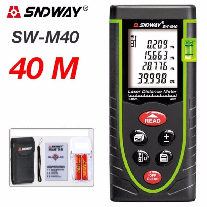 Thước đo khoảng cách bằng tia laser SNDWAY SW-M40 cự ly 40m GX-688B