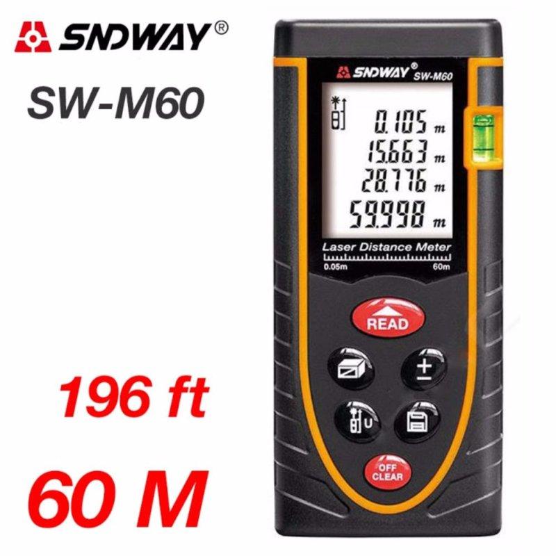 Thước đo khoảng cách lazer 60m SNDWAY SW-M60