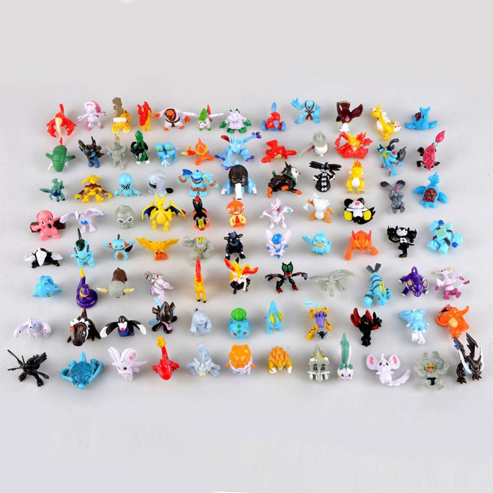 25pcs Hot Cute 5~6cm Pokemon Mini Random Pearl ct Figures Toy Party Gifts - INTL
