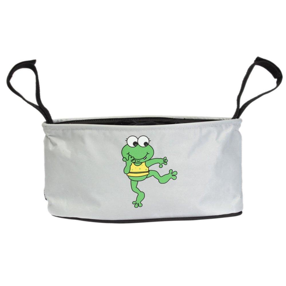 Baby Stroller Bottle Diaper Storage Bag Jumping Frog - intl