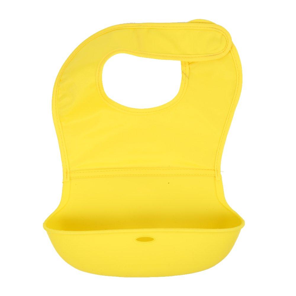 Baby Waterproof Silicone Bandana Bib - intl