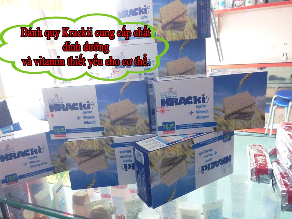 Bánh quy Krackii