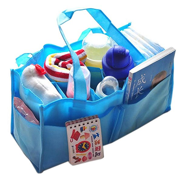 Bluelans New Baby Diaper Nappy Mother Bag Portable Handbag Blue (Intl)