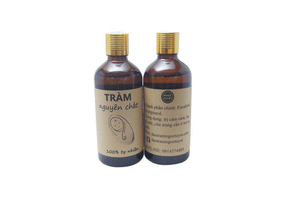 Bộ 2 chai tinh dầu tràm dùng cho trẻ sơ sinh Ngọc Tuyết 100mlx2