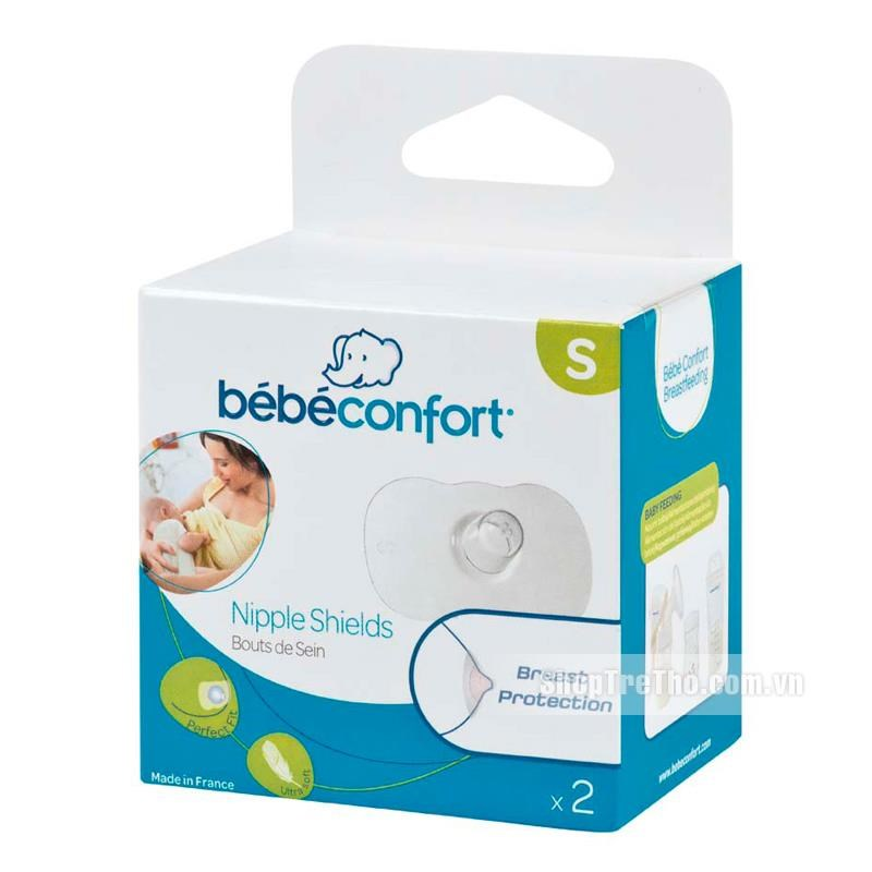 Bộ 2 trợ ti Silicon Bebe confort Size S