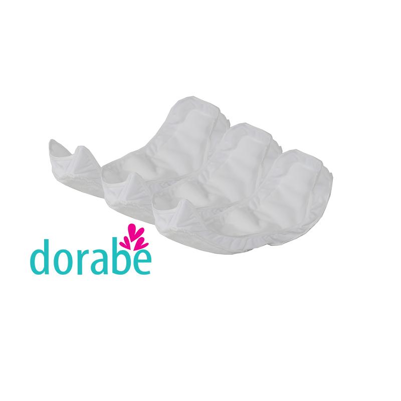 Bộ 3 miếng lót chống tràn 360 độ cho vỏ tã sơ sinh Dorabe
