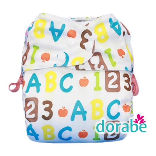 Bộ 3 tã vải Dorabe ban ngày cho bé từ 3-16kg