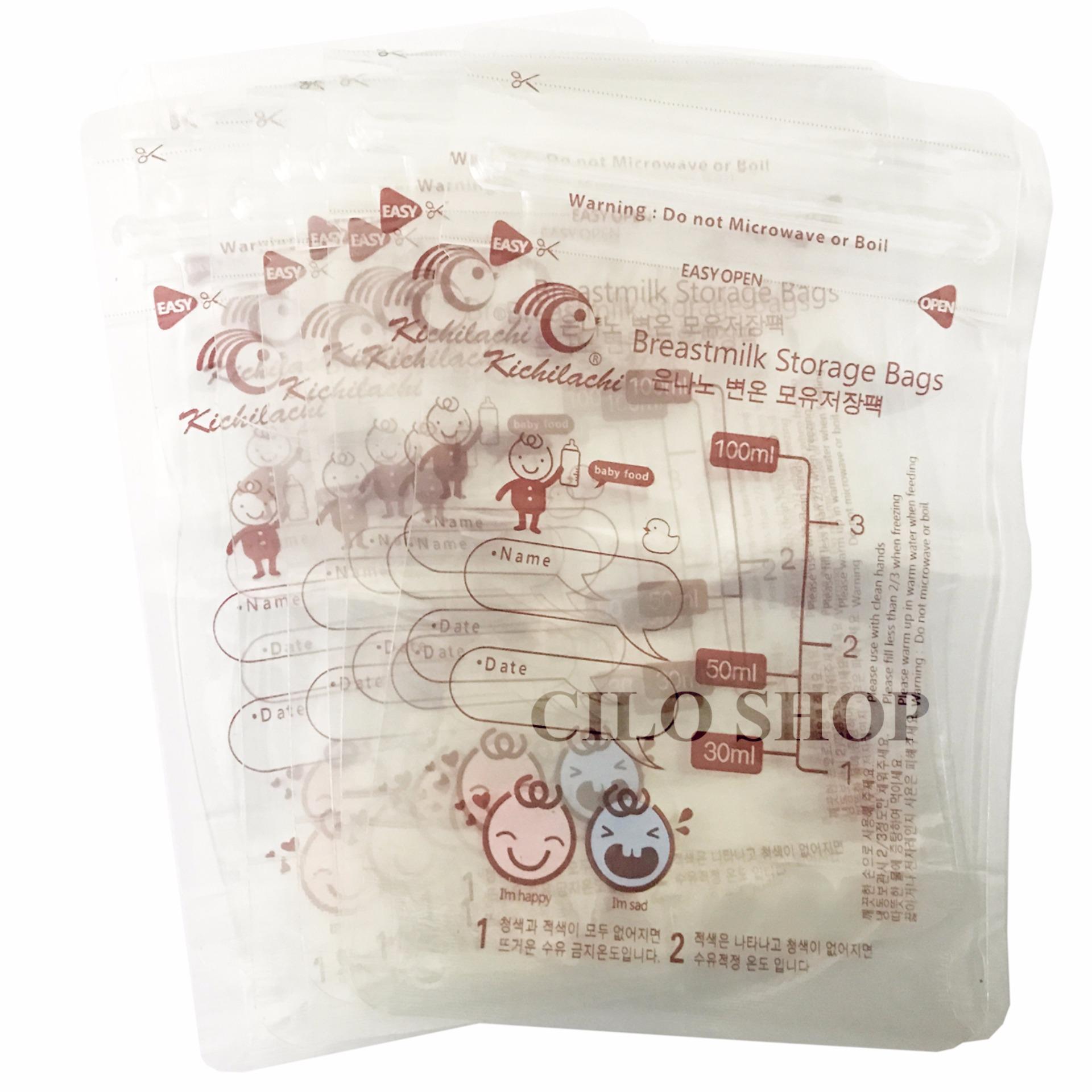 Bộ 30 Túi Đựng Sữa Kichilachi