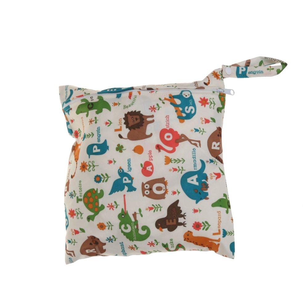 BolehDeals Waterproof Baby Zipper Diaper Bag Wet Dry Swim Travel Tote #1 - intl