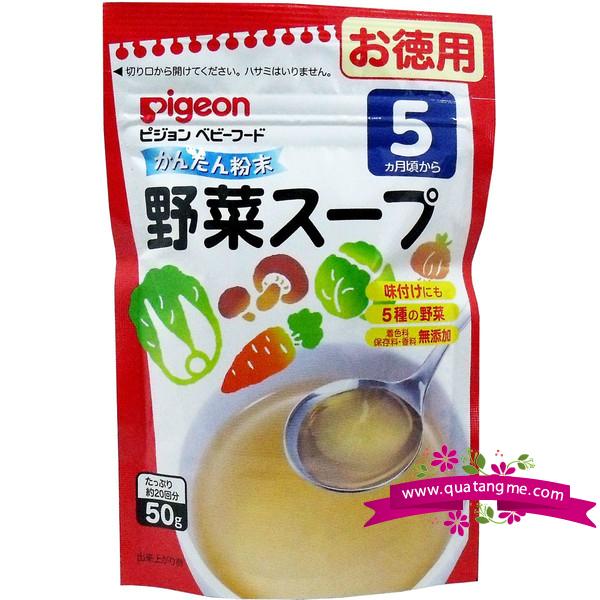 Bột nêm Dashi rau củ Pigeon
