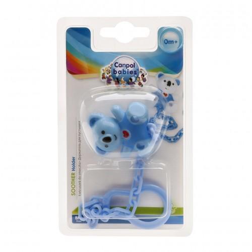 Dây đeo núm ty hình chú gấu Canpol Babies