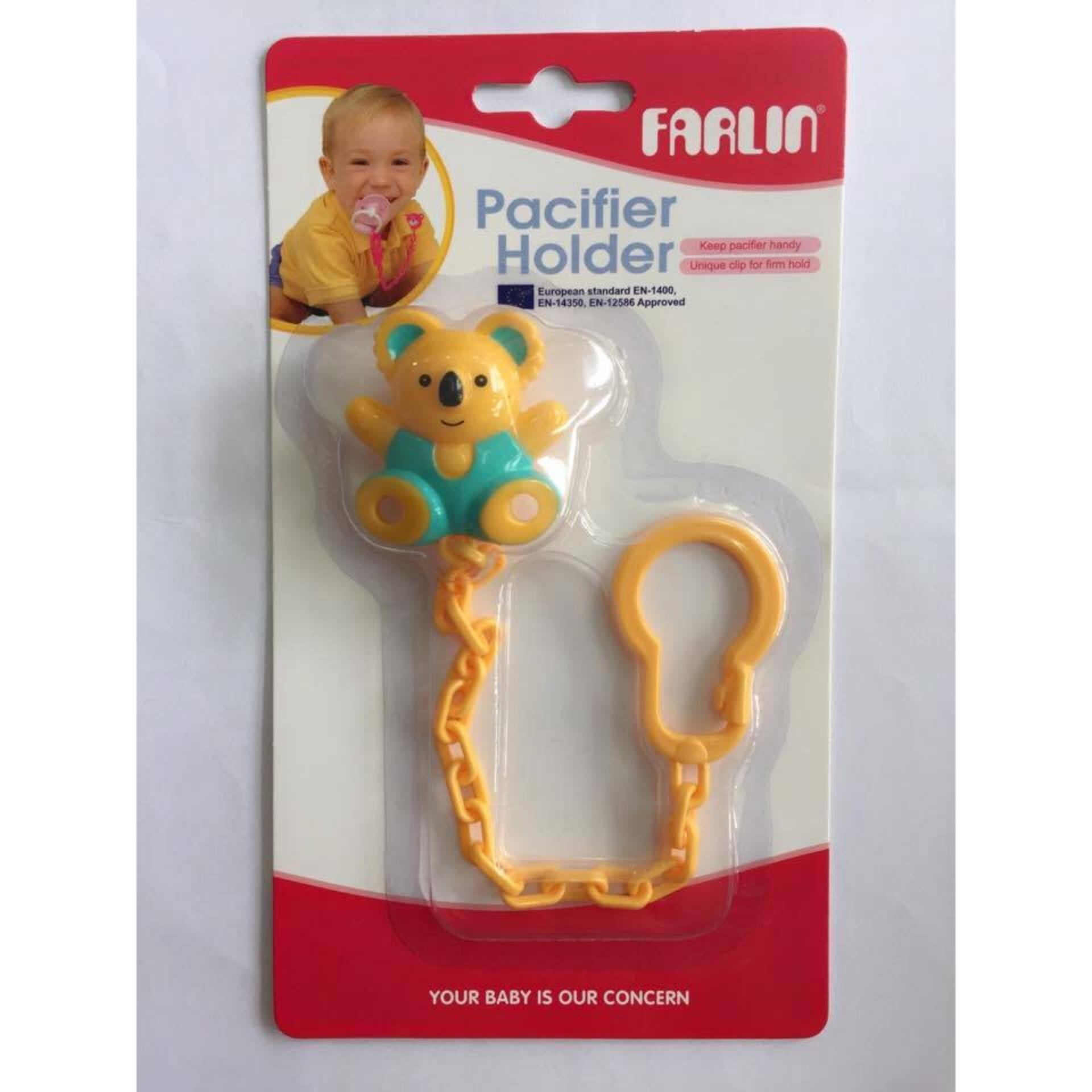 Dây đeo ty giả hình gấu Farlin