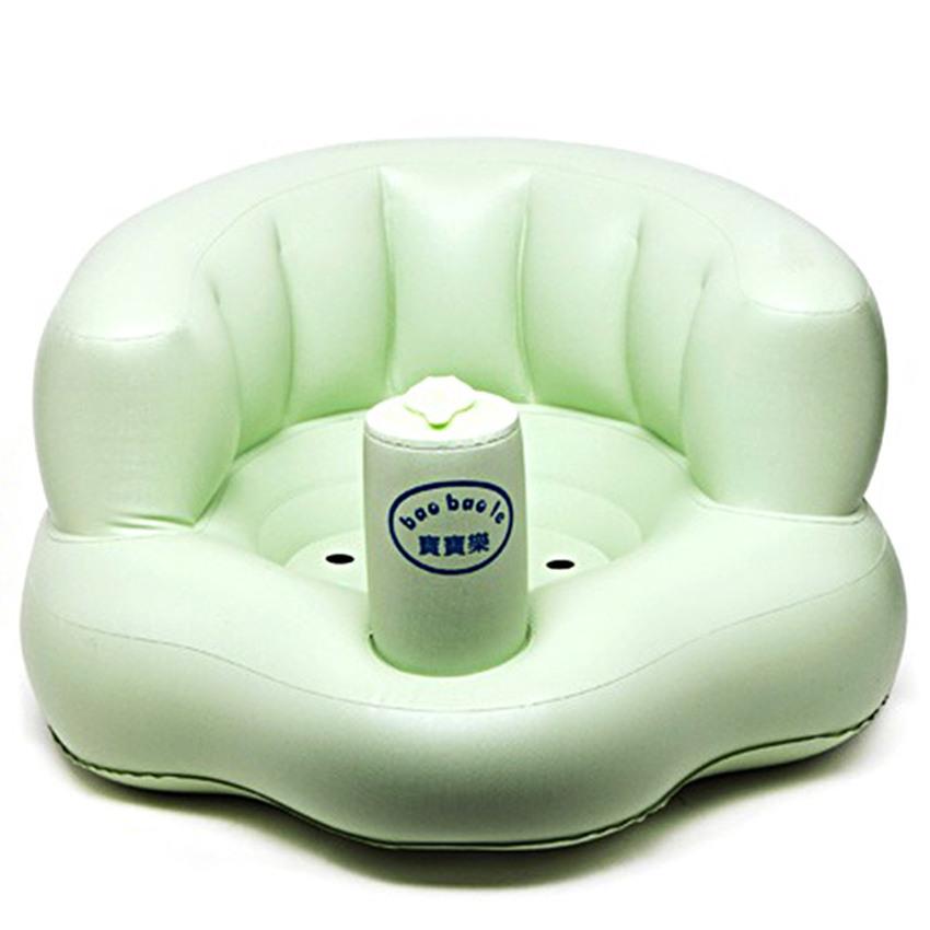 Ghế hơi tập ngồi bơm tay tiện dụng cho bé Royal kid (xanh )
