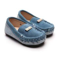 Giày lười da lộn San Baby