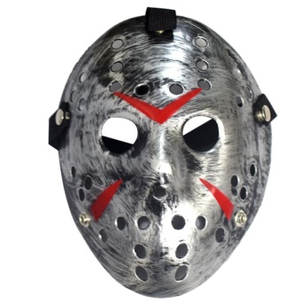 Halloween Mask Friday The 13th Horror Hockey Costume Prop - intl