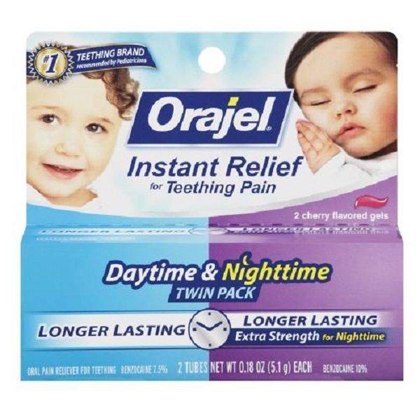 Kem bôi nướu răng cho bé ngày và đêm BABY ORAJEL 9.4g