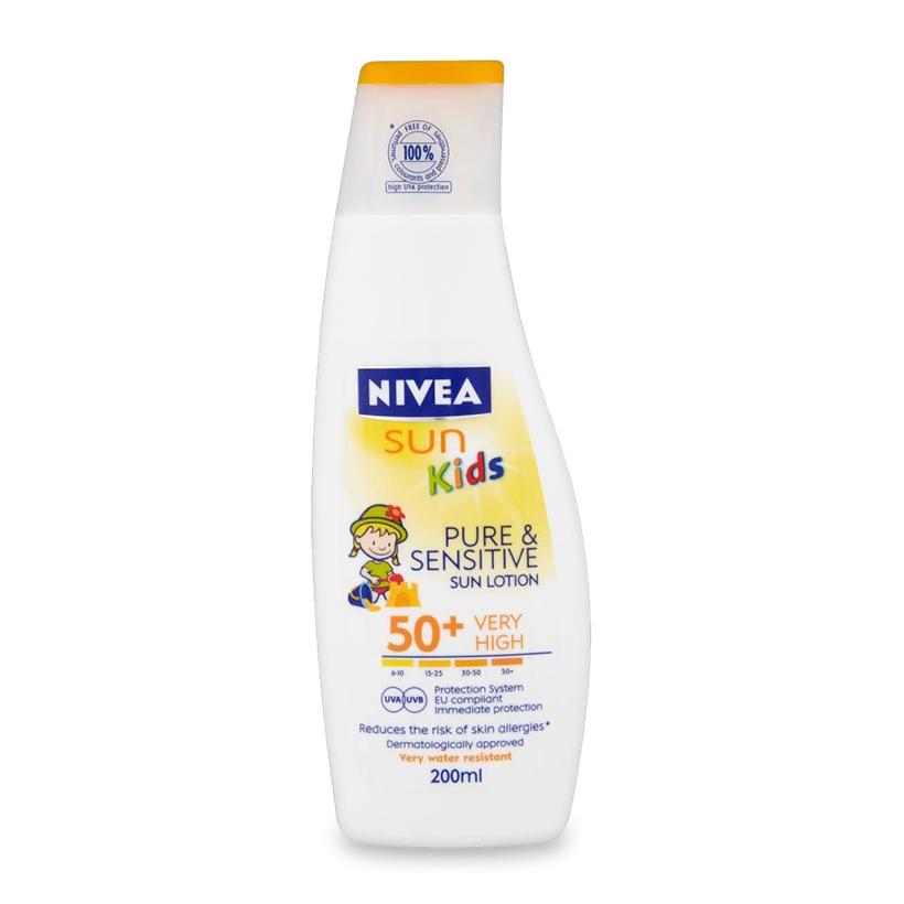 Kem chống nắng Nivea Kids 200ml
