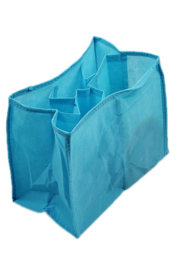 LALANG Baby Diaper Nappy Storage Travel Bag Tote Organizer Liner - Blue