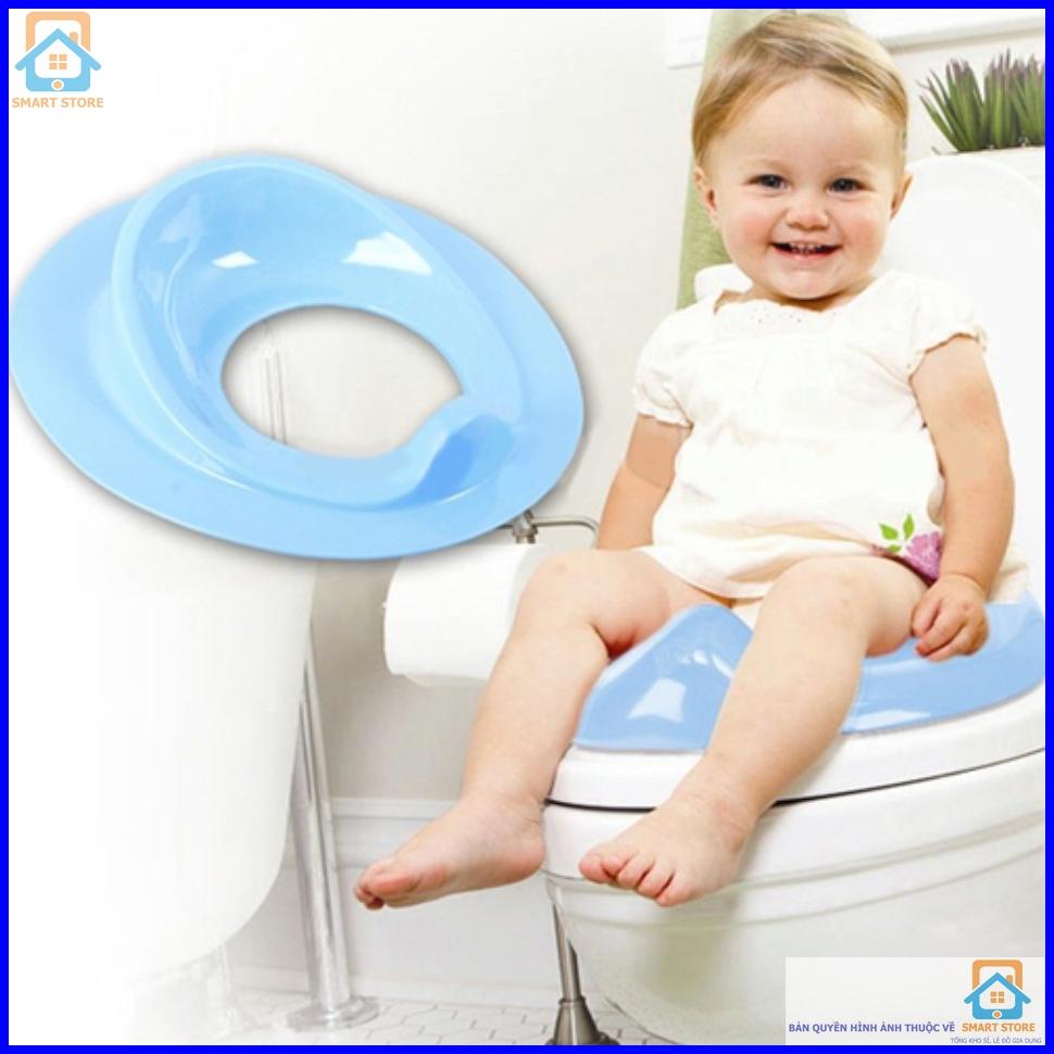 Lót bồn cầu an toàn và chống lạnh cho bé