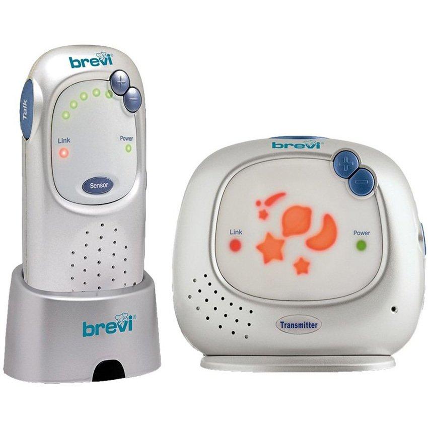 Máy báo khóc Brevi Digital baby (trắng sữa)