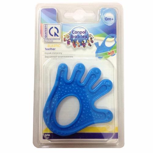 Miếng cắn răng nhựa mềm hình bàn tay Canpol babies 13/118