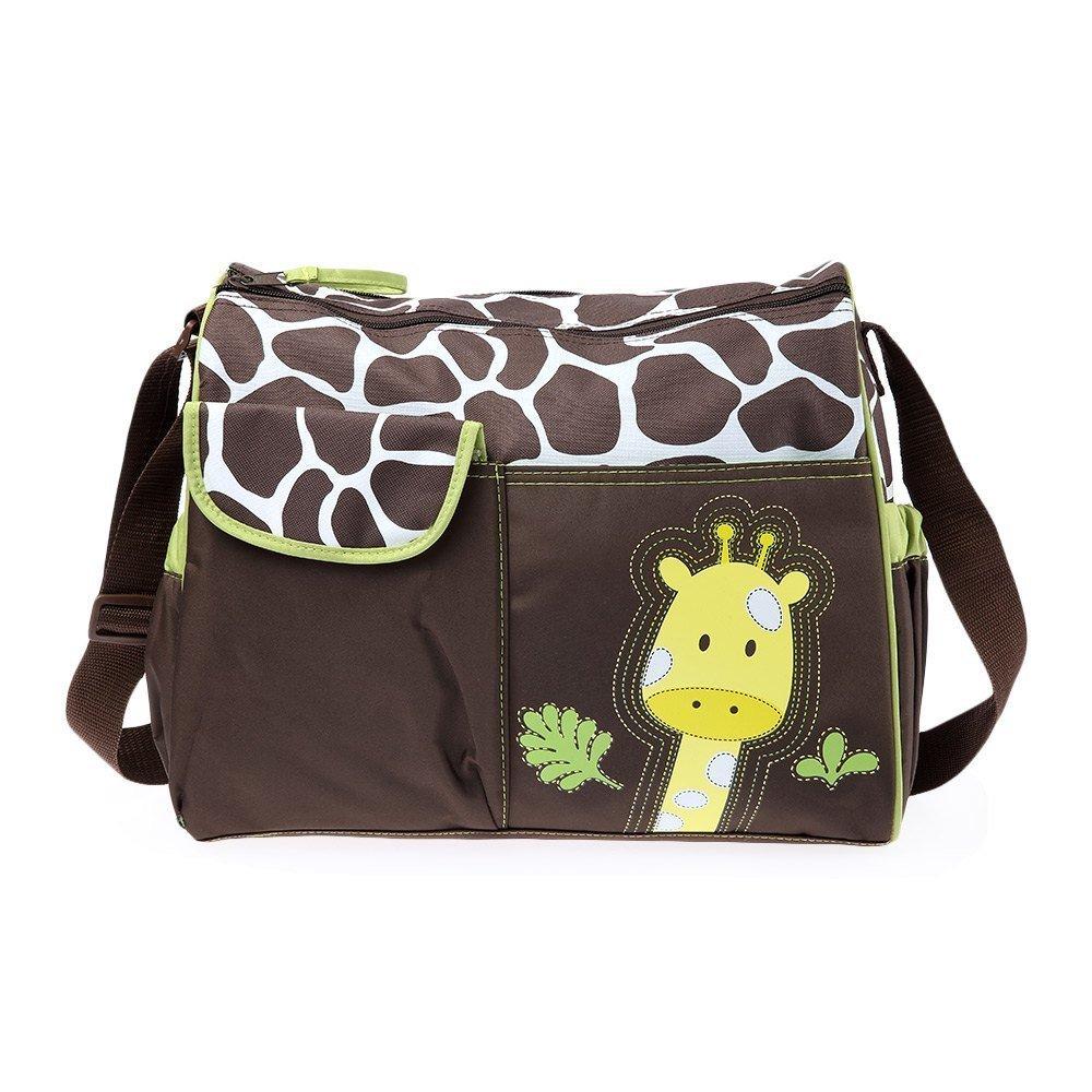 Mummy Canvas Handbag For Babies Diaper Changing (Green) - Intl