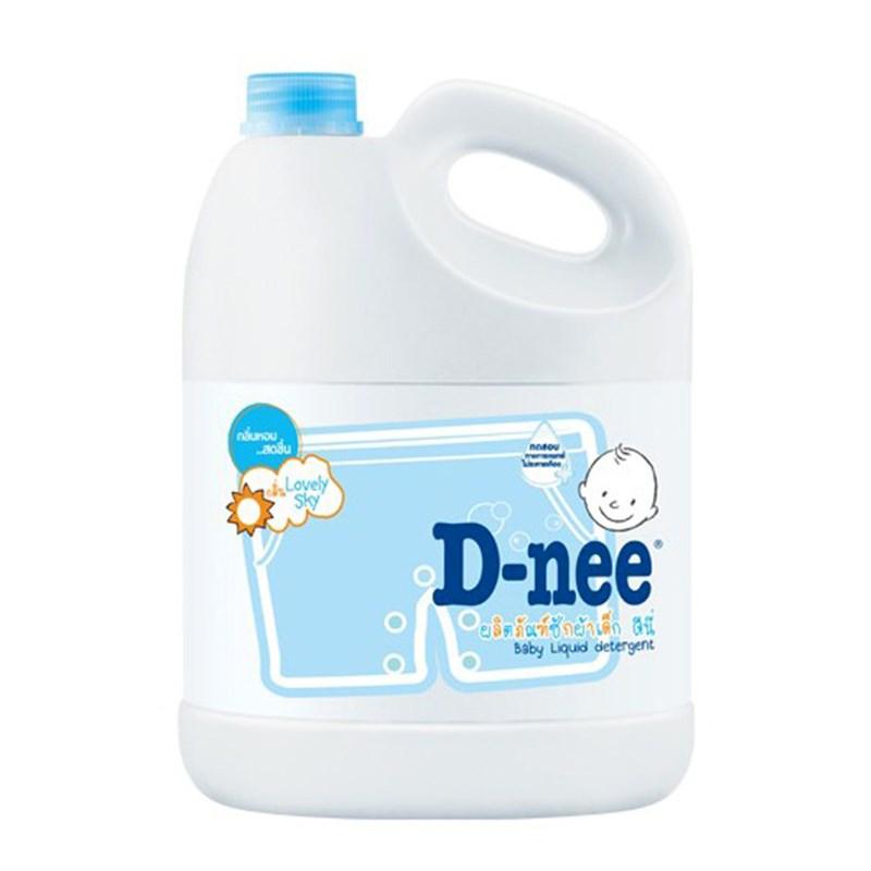 Nước giặt xả Dnee 3000ml (Xanh)
