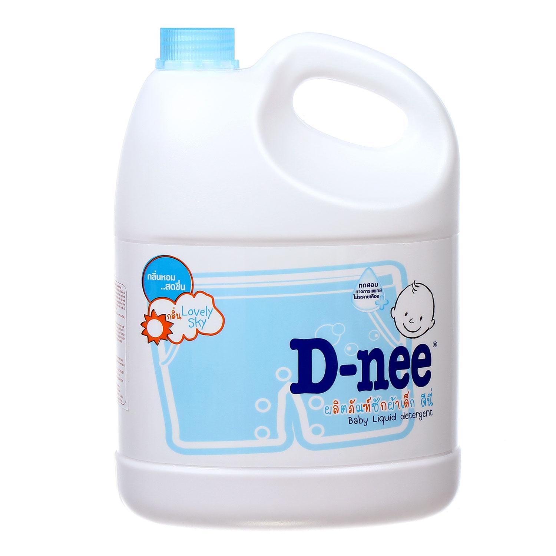 Nước giặt xả quần áo trẻ em D-nee Lovely Sky 3000ml